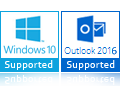 windows 10 outlook 2016